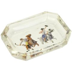 Glass Polo dish