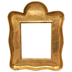 Beautiful Scalloped-Edge Frame in Gilt