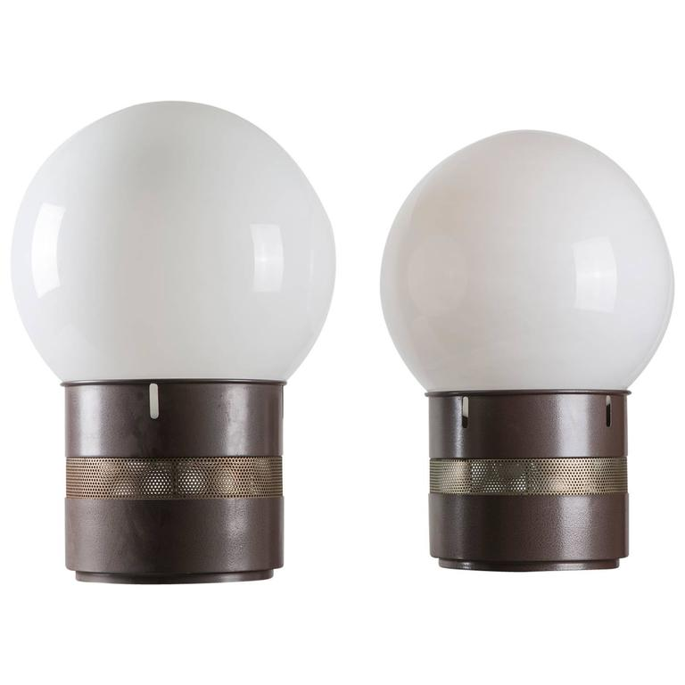 "Pair of ""Mezzo Oracolo"" Table Lamps by Gae Aulenti for Artemide"