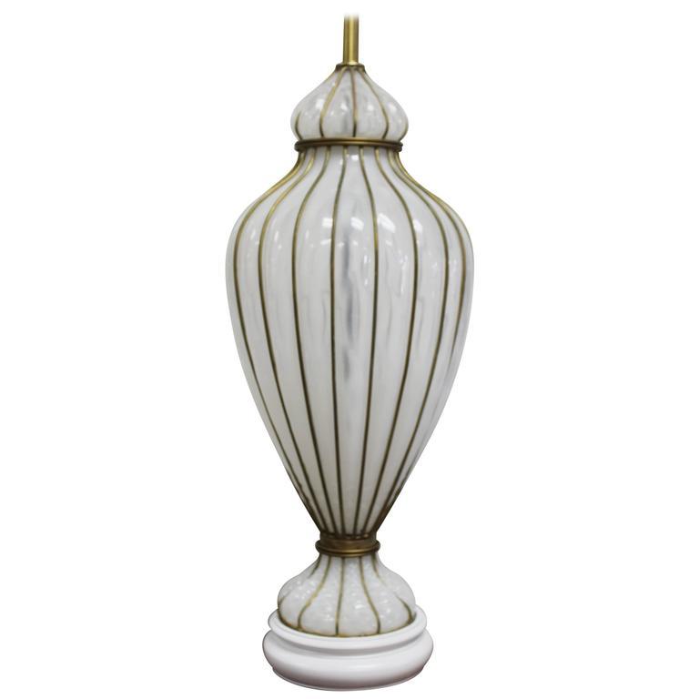 Venetian Glass Lamp by Marbro Lamp Company  1