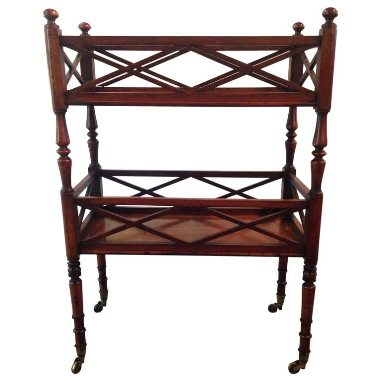 Antique two tier etagere at 1stdibs - Etagere string vintage ...