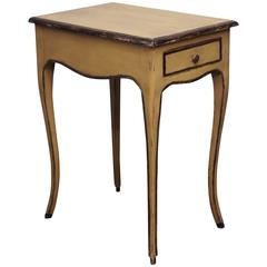 Louis XVI Painted side table