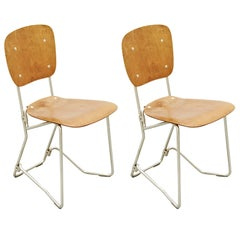 Aluflex First Edition Pair of Chairs by Armin Wirth