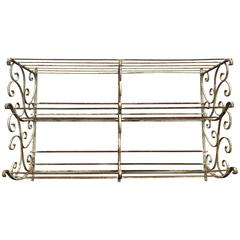 Large Wrought Iron Boulangerie Rack, French, circa 1900