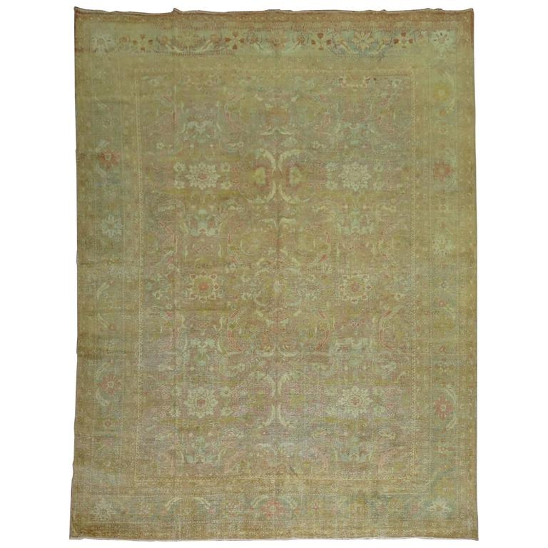 Shabby Chic Antique Persian Rug
