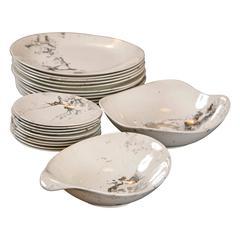 Nessa Gaulois Dinnerware designed by Sascha Brastoff