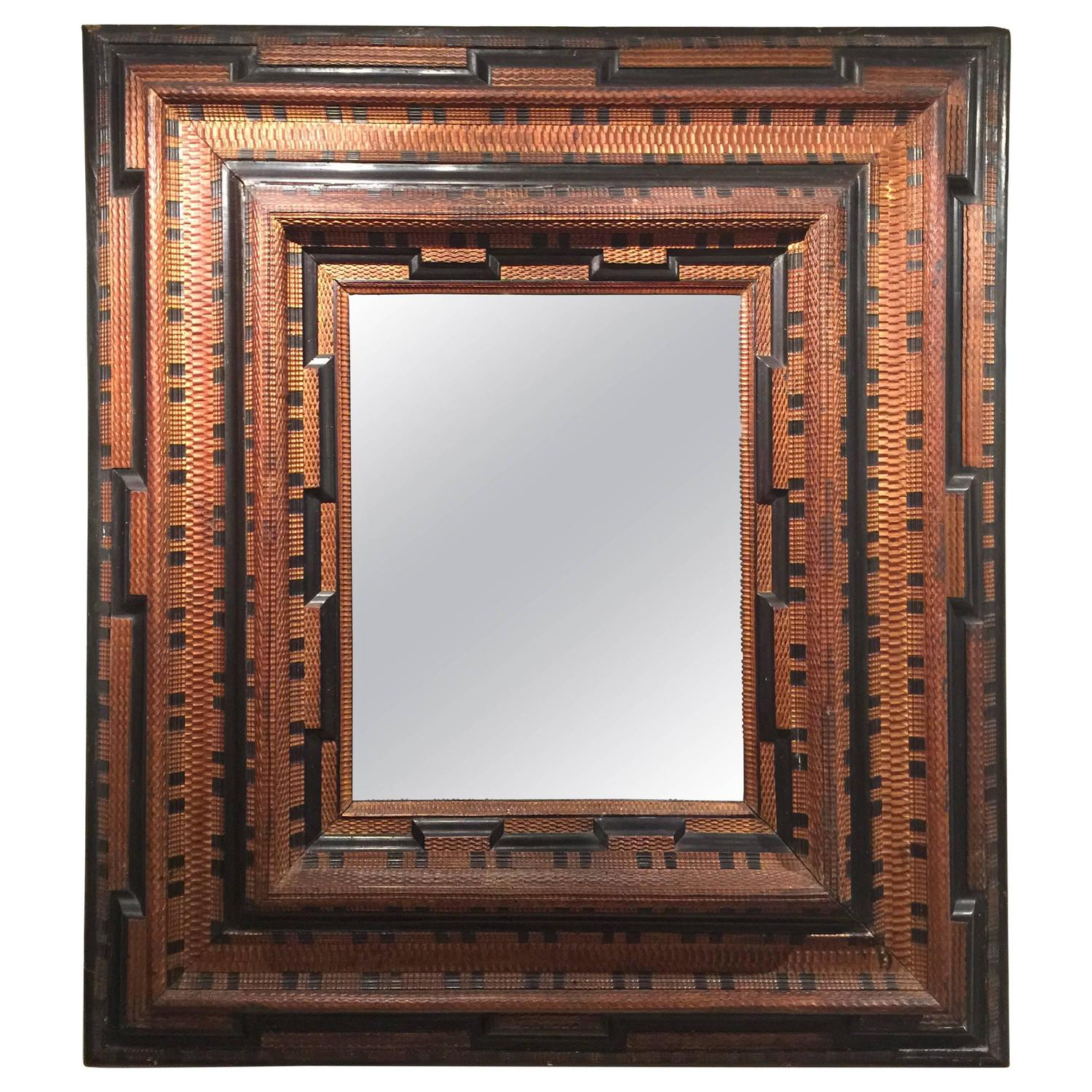 Important dutch mirror 17th century at 1stdibs for 17th century mirrors