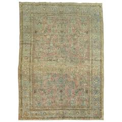 Antique Persian Rug Featuring Pantone 2016 Color of the Year