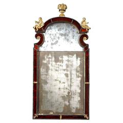 Exceptional Early 18th Century Swedish Baroque Pier Mirror