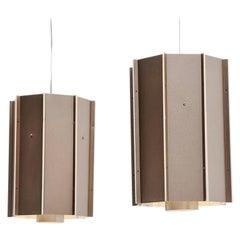 RAAK Amsterdam Industrial Ceiling Lamps, Holland, 1970