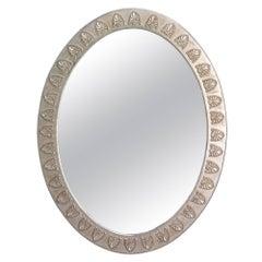 Anthemion Oval Mirror