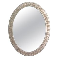 Anthemion Oval Mirror