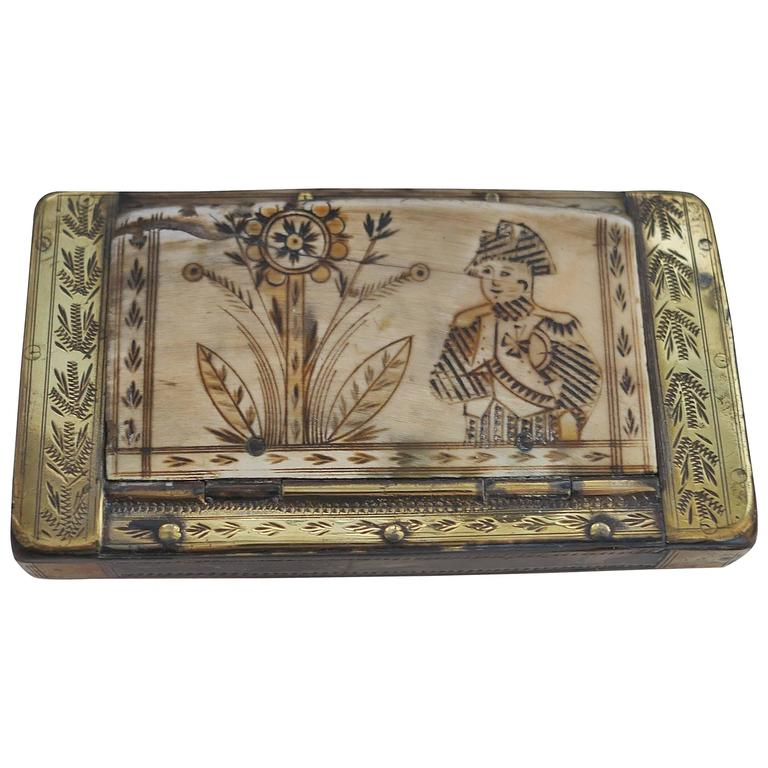 Early 19th Century Napoleon Snuffbox