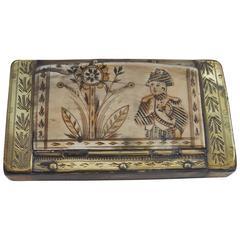 Early 19th Century Napoleon Snuffbox