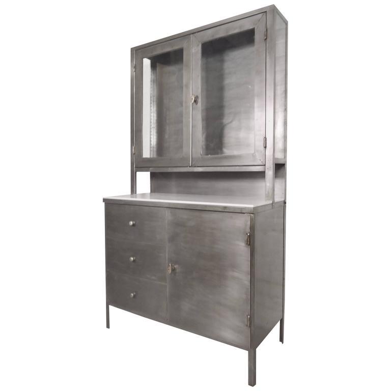 refinished vintage hoosier cabinet for sale at 1stdibs