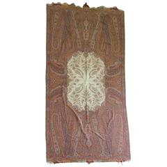 Monumental 19th Century Kashmir Paisley Shawl
