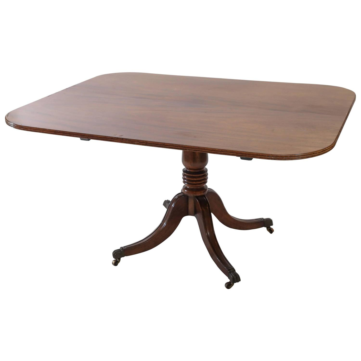 period mahogany dining room or breakfast table at 1stdibs