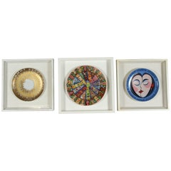 Rosenthal Collectible Set of Three Framed Plates