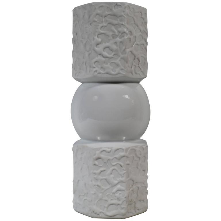 Mid-Century Modern Bavaria Porcelain Vase by KPM, Germany