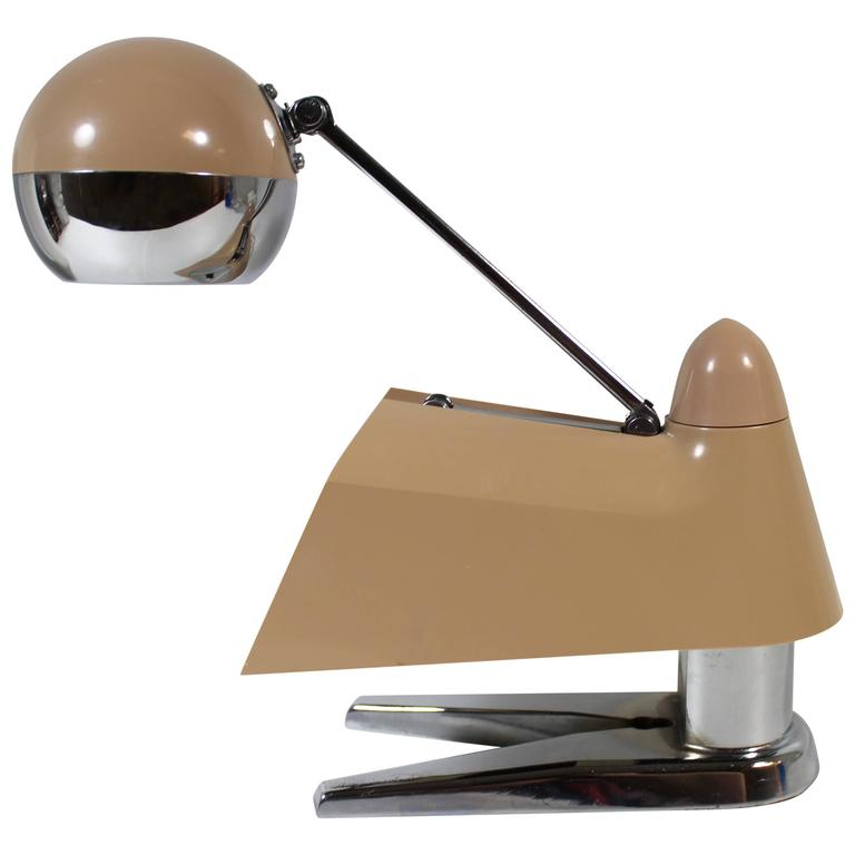 Space Age Telescoping Desk Lamp At 1stdibs