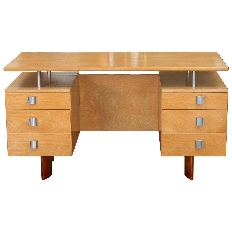 Desk Designed By Eliel Saarinen For Johnson Furniture