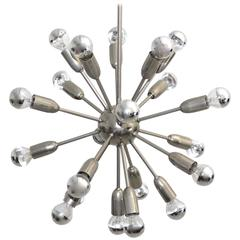 Mid Century Modern Chandelier 1960s Italy