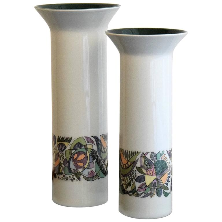Cuno Fischer  Vases for Rosenthal For Sale