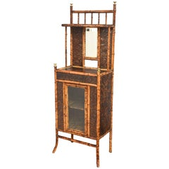 Superb 19th Century English Bamboo Cabinet