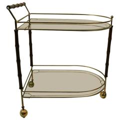 Bar Serving Trolley Cart