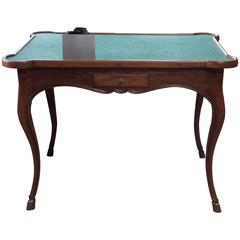 Fine French Louis XV Period Walnut Games Table