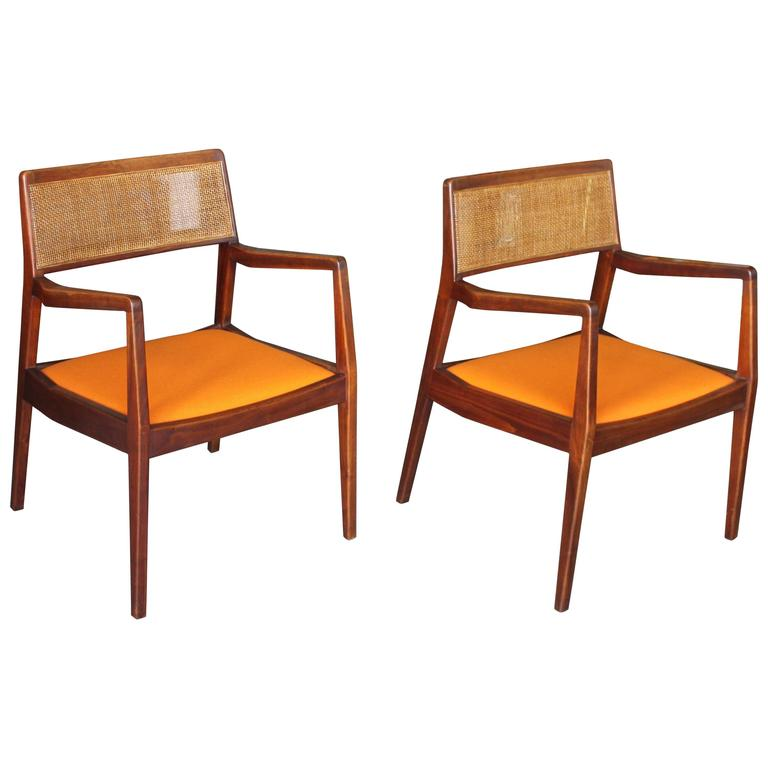 Pair of Jens Risom Armchairs 1