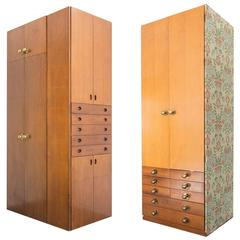 Pair of Custom-Made Cabinets by Anna Castelli Ferrieri