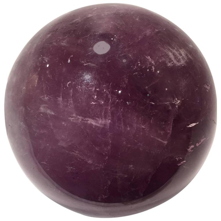 Amethyst Sphere from Uruguay
