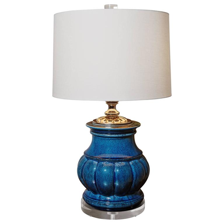 Pair of 1940s quan yin table lamps attributed to frederick cooper midcentury frederick cooper lamp aloadofball Images