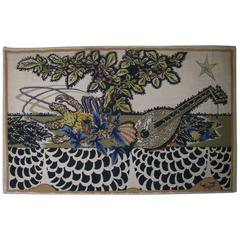 French Midcentury Tapestry by Jean Lurcat for Corot