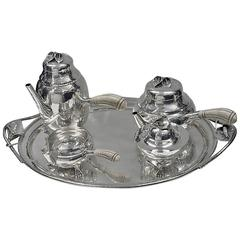 William deMatteo American Sterling Tea and Coffee Service