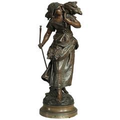 Statue by A. Moreau
