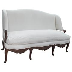 18th Century French Carved Settee