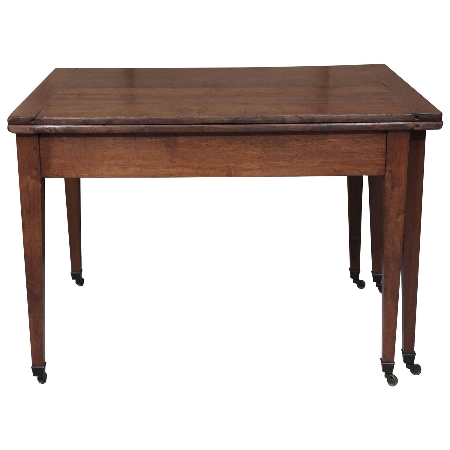 french walnut directoire dining table at 1stdibs