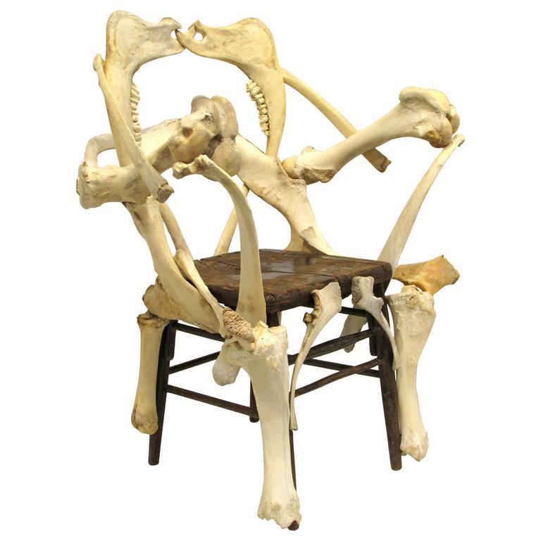 Bone Chair At 1stdibs