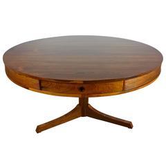 Robert Heritage Rosewood Drum Table