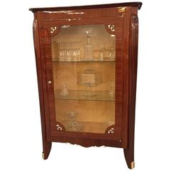 French Art Deco Vitrine, Display Cabinet