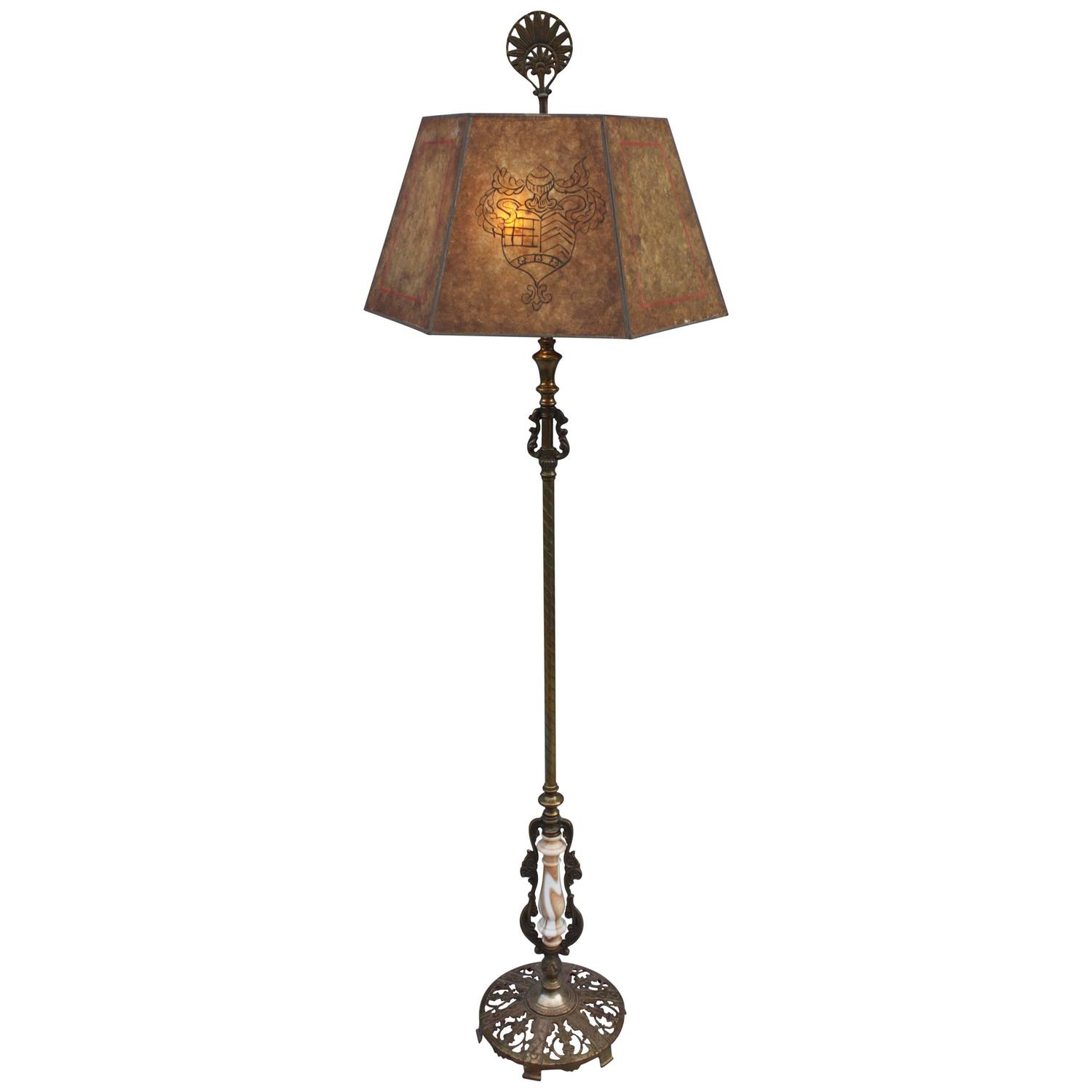 1920s large scale spanish revival floor lamp for sale at for 1920s floor lamps