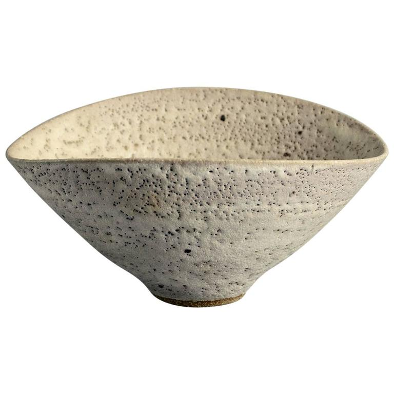 Bowl With Pitted Glaze By Lucie Rie At 1stdibs