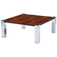 Italian Rosewood Coffee Table