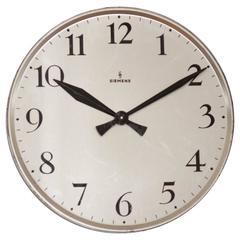 Siemens Industrial or Station Wall Clock