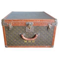 Rare Louis Vuitton Monogram Travel Case, 1940s, Vichy, France