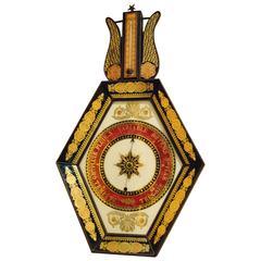 French Eglomise Barometer