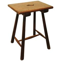 High Elm Stool