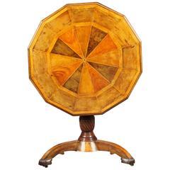 Antique Segmented Centre Table